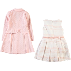 Civil Girls Powder Pink Dress Girl Child Ages 4-8 (2)