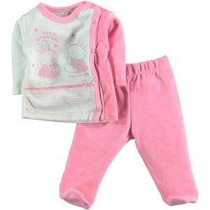 Civil Baby Baby girl 2-team Fuchsia 0-3 months