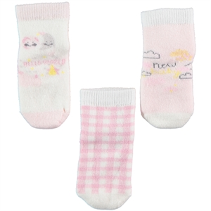 Civil Baby Baby girl 3-sock Set 0-12 months pink