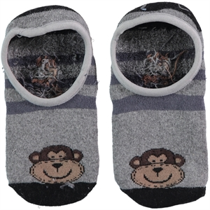 Bella Calze 1-11 Age Boy Socks Gray