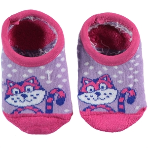 Bella Calze The Ages Of 1-11 Lila Girl Socks
