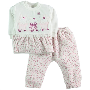 Civil Baby Suit Baby Girl 6-12 Months Pink