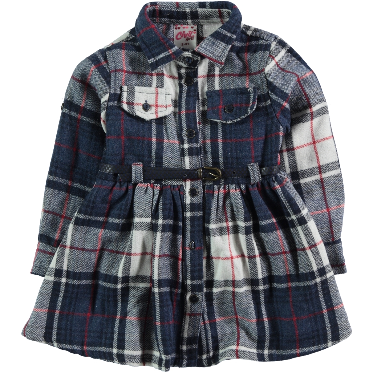 Civil Girls Navy Blue Girl Boy Clothes Age 6-9
