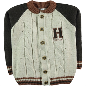 Civil Boys Brown Cardigan Age 6-9 Boy
