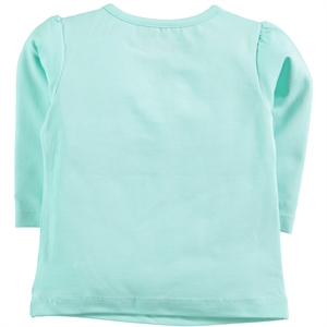 Kujju 6-18 Months Baby Girl Mint Green Sweatshirt (2)