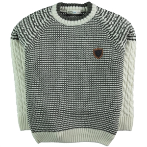 Civil Boys Age 6-9 Boy Sweater Khaki (1)