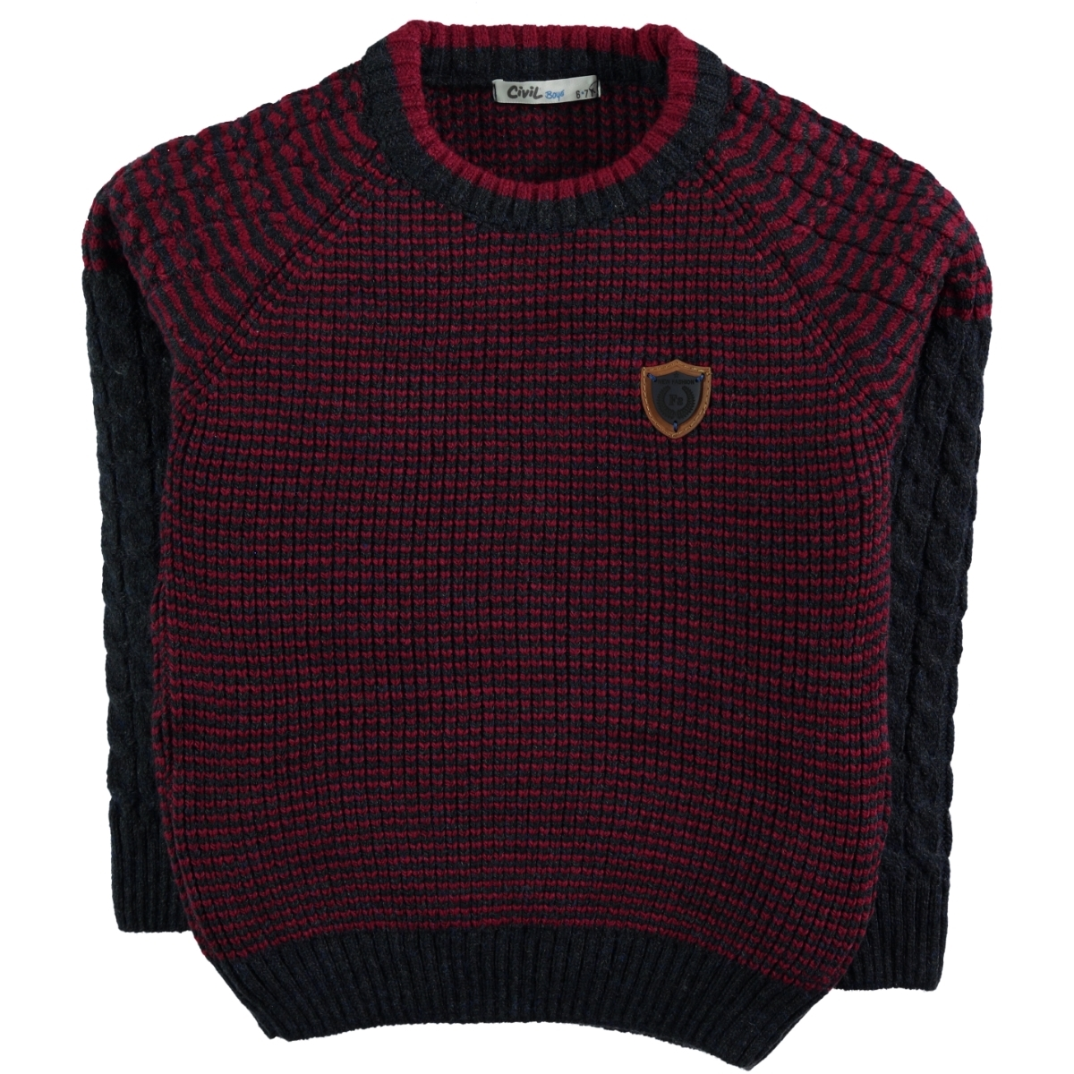 Civil Boys Age 6-9 Boy's Navy Blue Sweater