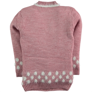 Civil Girls Pink Sweater Girl Age 6-9 (2)