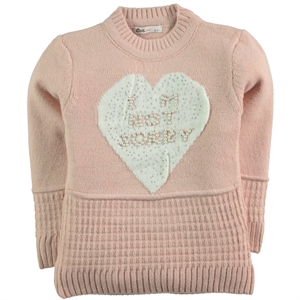 Civil Girls The Powder Pink Sweater Girl Age 6-9 (1)