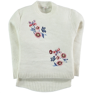 Civil Girls Ecru Sweater Girl Age 6-9 (1)