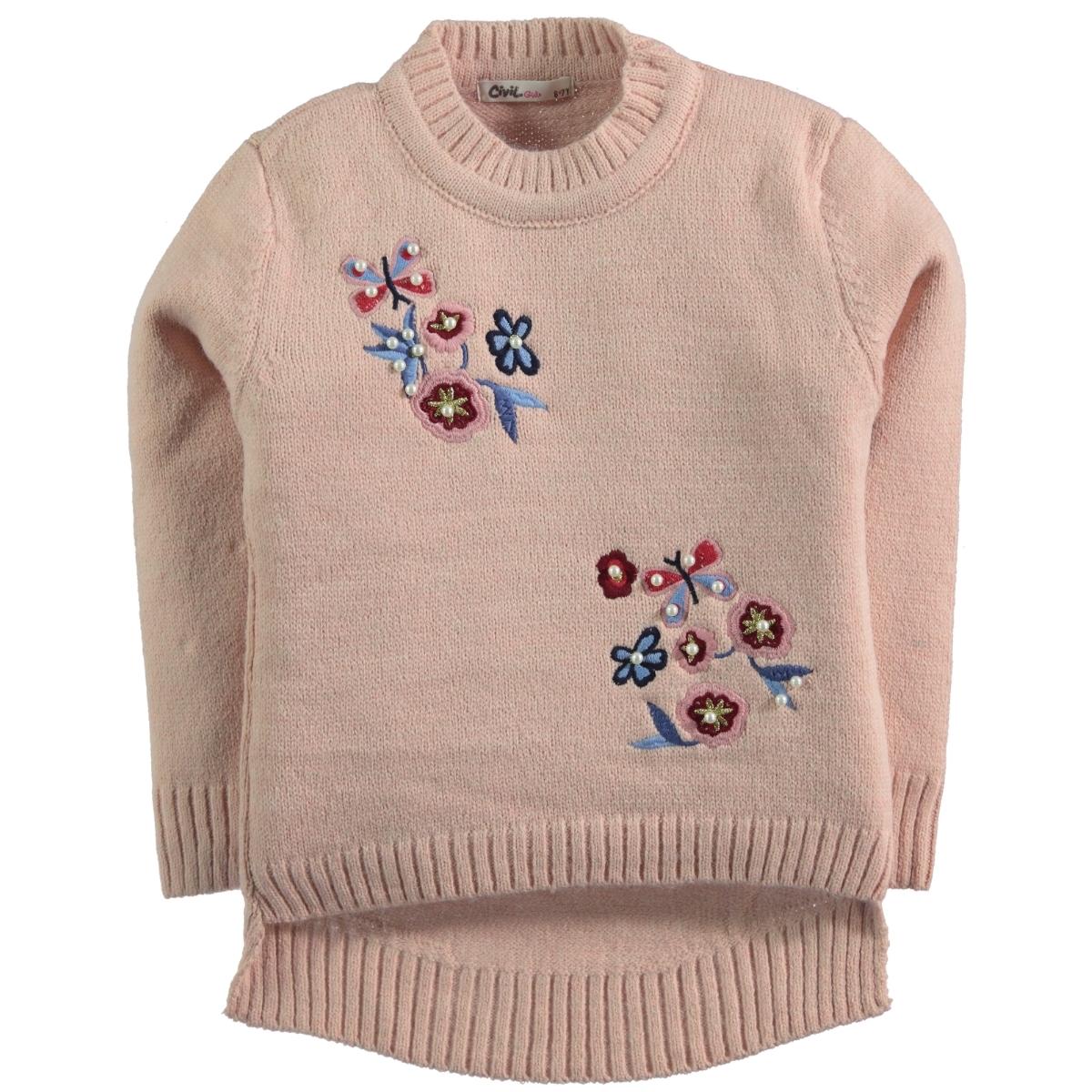 Civil Girls The Powder Pink Sweater Girl Age 6-9