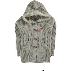 Civil Girls Beige Cardigan For Girl Age 10-13