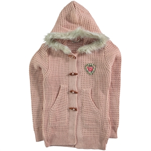 Civil Girls Powder Pink Cardigan Girl Age 10-13