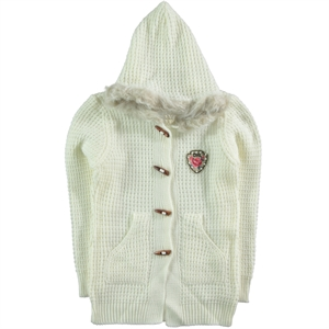 Civil Girls Ecru Cardigan Girl Age 10-13 (1)