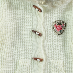 Civil Girls Ecru Cardigan Girl Age 10-13 (3)