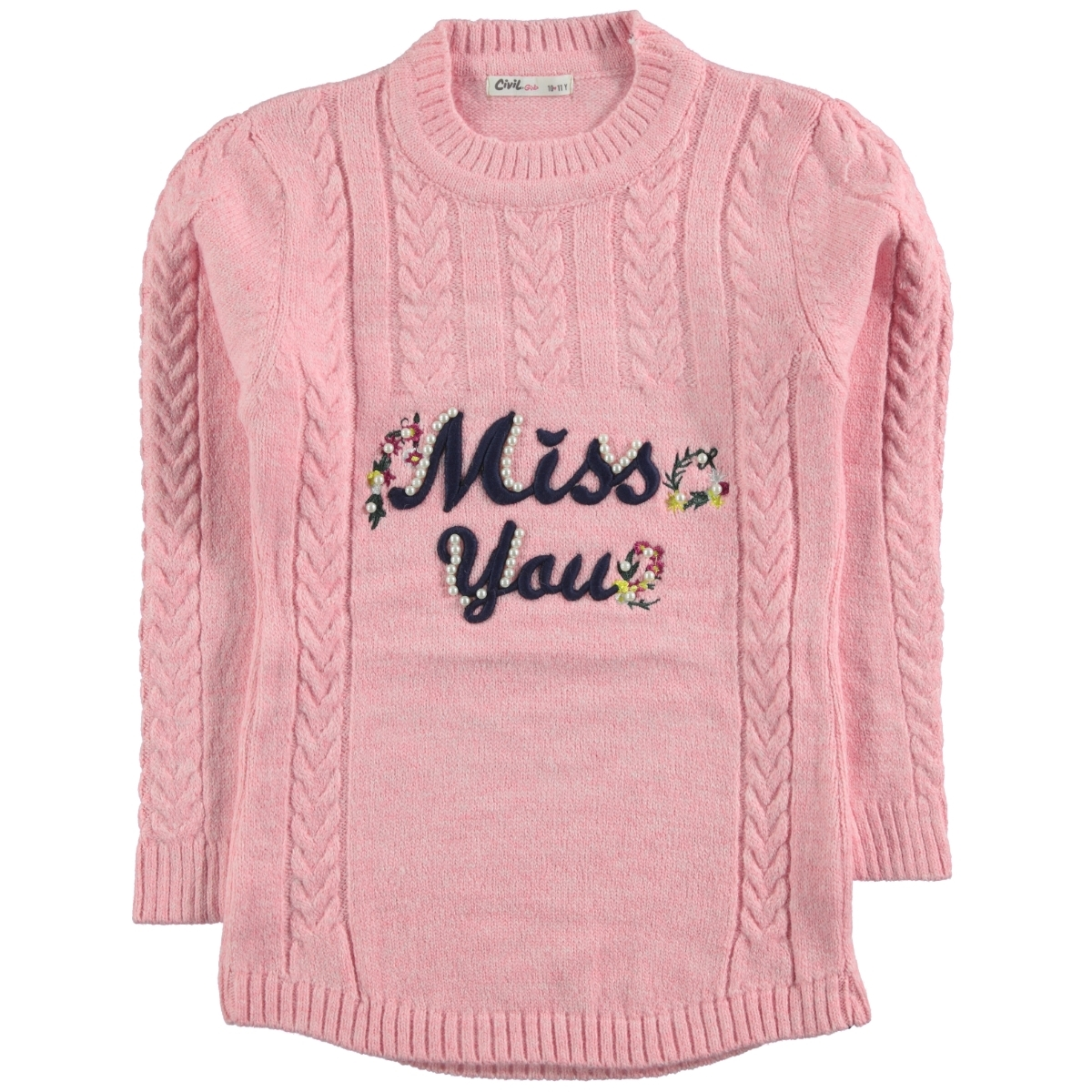 Civil Girls Pink Sweater Girl Aged 10-13