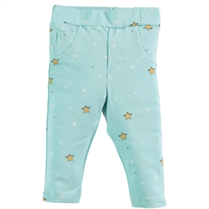 Kujju 6-18 Months Baby Girl Mint Green Tights