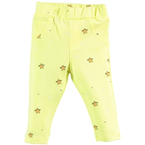 Kujju Baby Girl Yellow Tights 6-18 Months