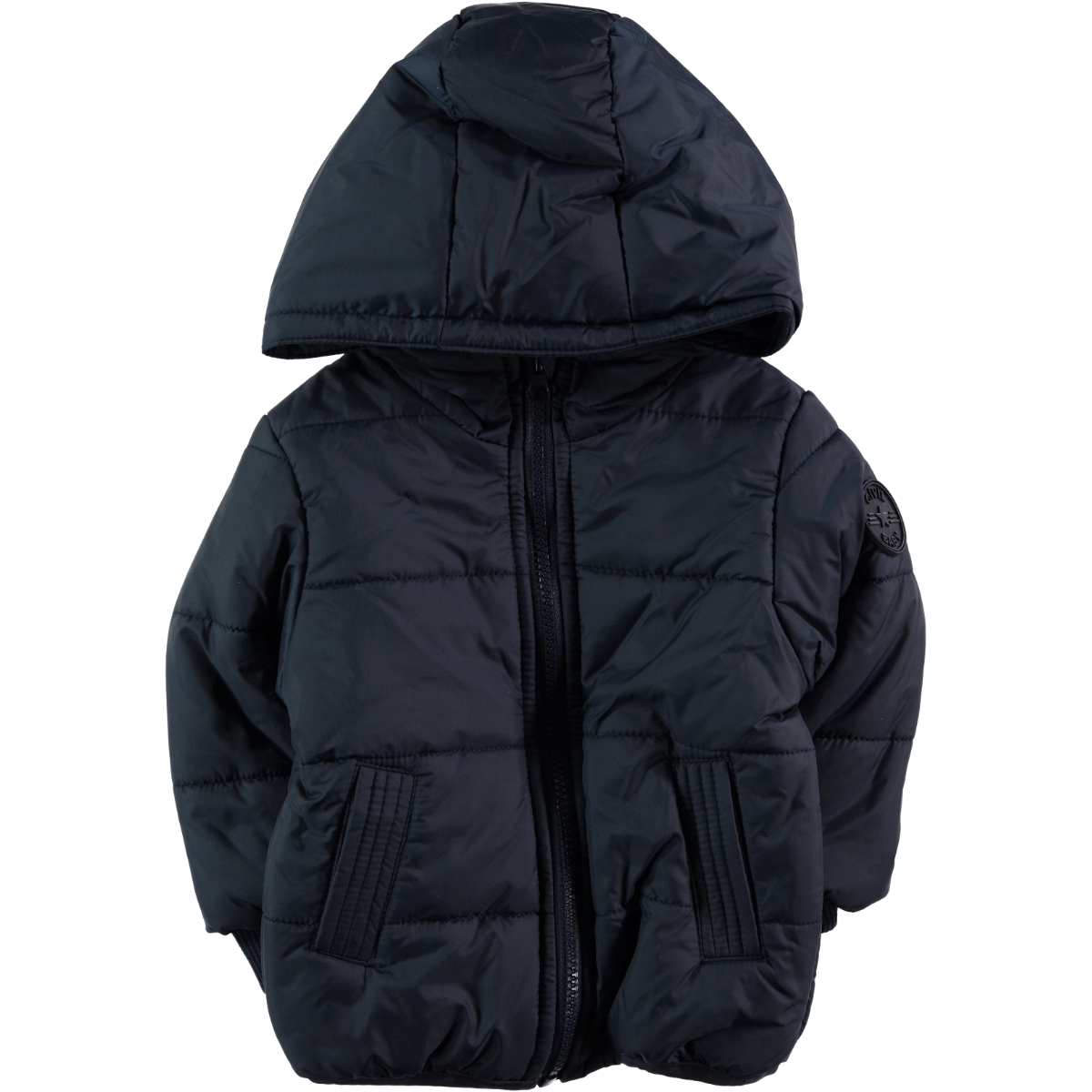 Civil Baby 6-18 Months Baby Girl Navy Blue Coat