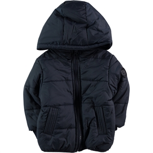 Civil Baby 6-18 Months Baby Girl Navy Blue Coat (1)