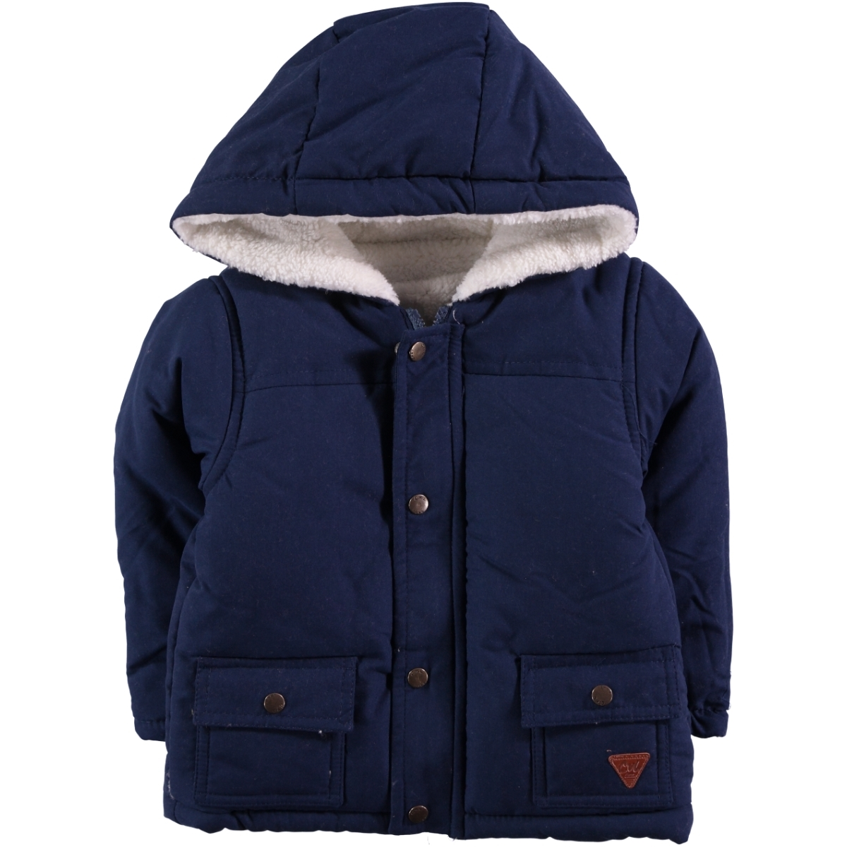 Civil Baby Chirping Baby 9-18 Months Baby Boy Navy Blue Jacket