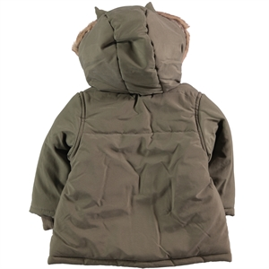 Civil Baby The Civic Coat Khaki Baby Baby Girl 6-18 Months (2)