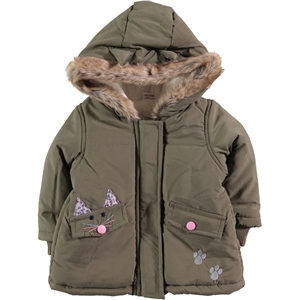Civil Baby The Civic Coat Khaki Baby Baby Girl 6-18 Months