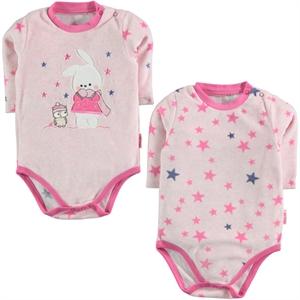 Kujju Baby girl 2-Fuchsia 12-24 months Bodysuit with snaps