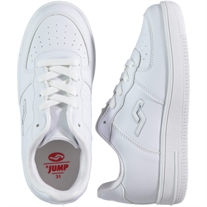 Jump Numbers 31-35 Boy White Sneakers
