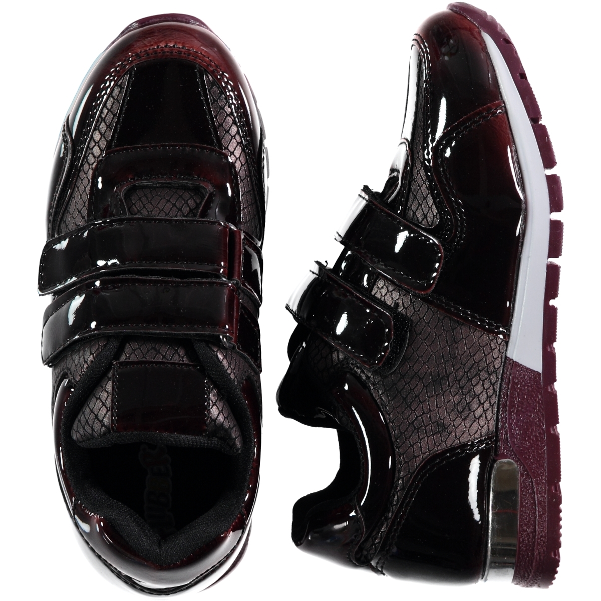 Flubber The Civil Numbers 31-35 Burgundy Sneaker Boy
