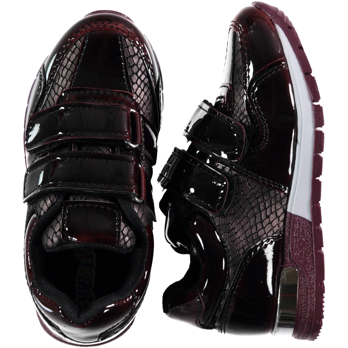Flubber The Civil 26-30 Boy Sneaker Burgundy Number