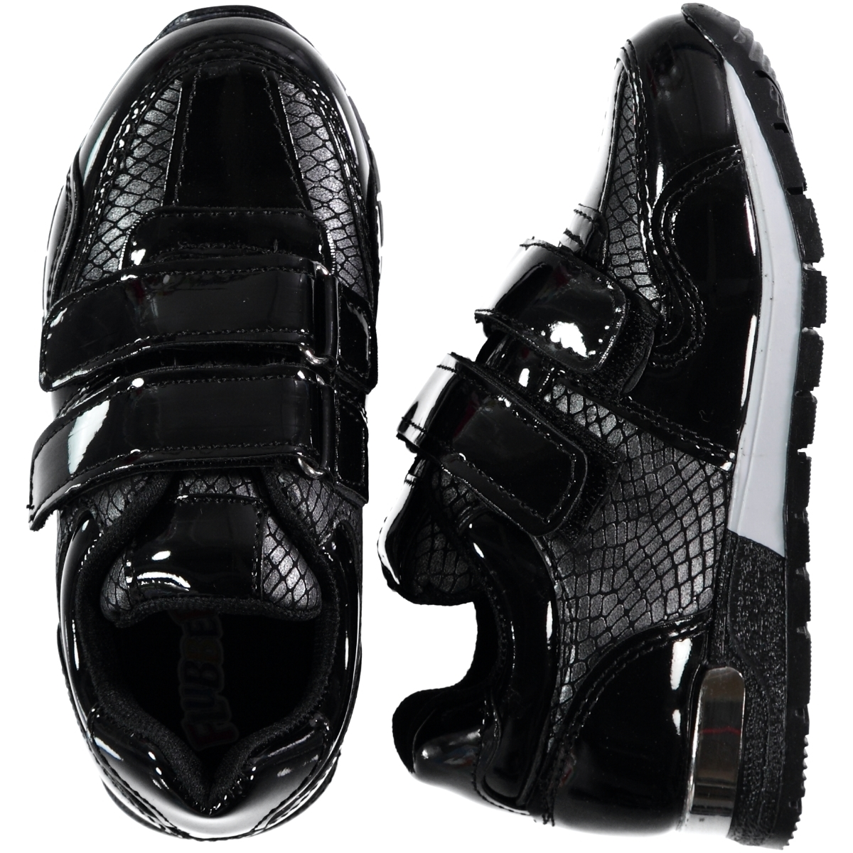 Flubber The Civil 26-30 Boy Sneaker Black Numbers