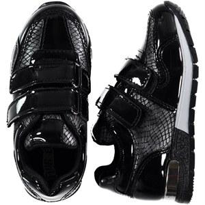Flubber The Civil 26-30 Boy Sneaker Black Numbers (1)