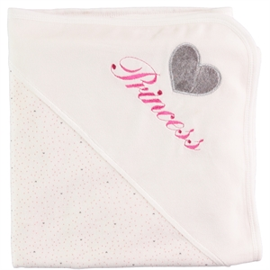 Kujju Double 80x90 blanket pink baby girl (1)