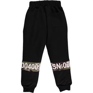 Civil Boys Black Sweatpants Boy Age 6-9 (2)