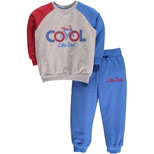 Cvl Boy Blue Sweat Suit 2-5 Years