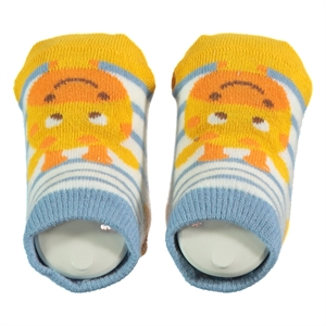 Step Baby Boy Ankle Socks 0-6 Months-Yellow