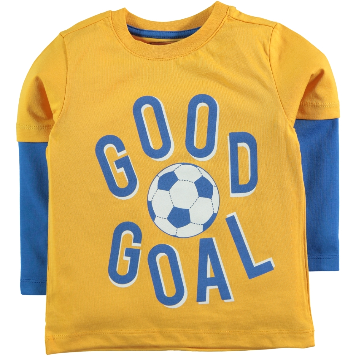 Cvl 2-5 Years Boy Sweatshirt Mustard