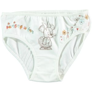 Donella Ecru Panties Girl Child Ages 2-10