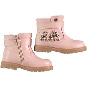 Vicco Boots Powder Pink Number Boy Girl, 22-25 (1)