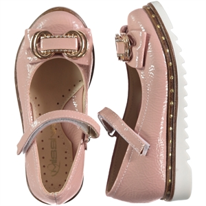 Missiva 26-30 Girls Ballet Flats Powder Pink Number