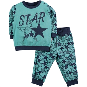 Kujju Team Baby Boy 6-18 Months Green Mint
