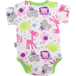 Civil Baby Yesil 0-24 Months Baby Bodysuit With Snaps (2)
