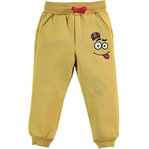 Cvl Mustard Sweatpants Boy Age 2-5 (1)