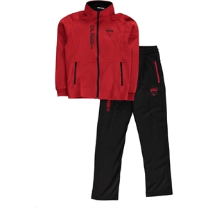 Civil Sport Boy Red Sweat Suit Age 6-9