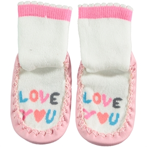 Civil Baby 20-24 Sandals Sandals Socks Girl Socks Powder Pink Number