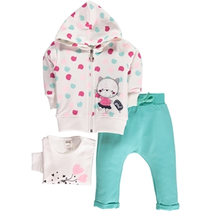 Civil Baby Baby girl 3-Team 6-18 months mint green