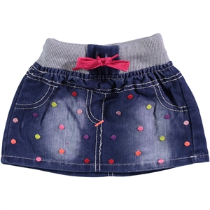 Civil Baby Girl's Skirt Blue-6-18 Months