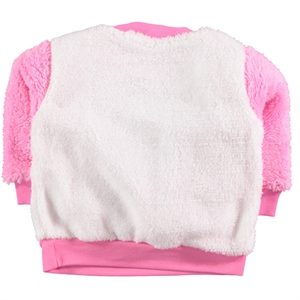 Civil Baby 3-12 Months Baby Girl Fuchsia Sweatshirt (2)