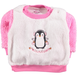Civil Baby 3-12 Months Baby Girl Fuchsia Sweatshirt (1)